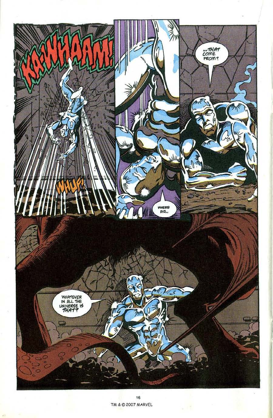 Read online Silver Surfer (1987) comic -  Issue #49 - 18
