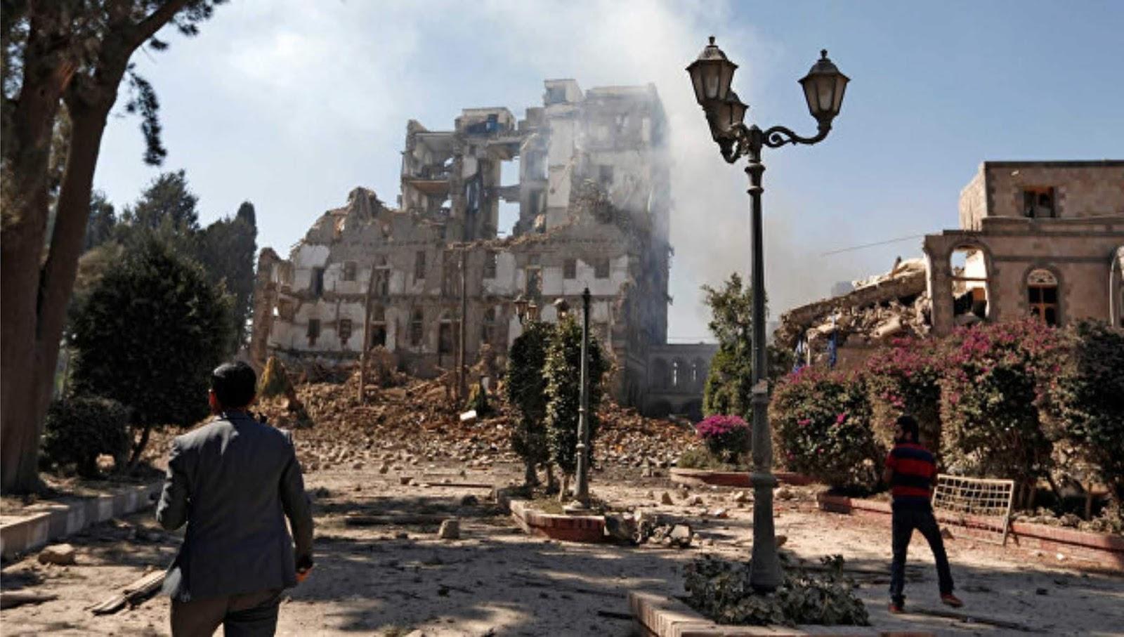 Koalisi Arab menyerang stasiun peluncuran drone di Yaman