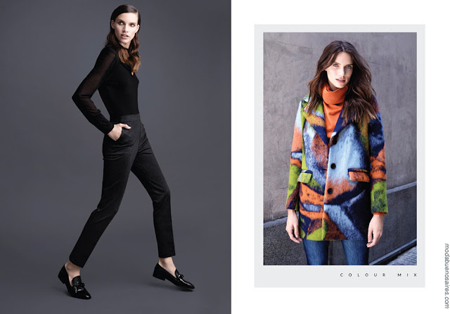 Moda mujer invierno 2018 ropa de moda. Moda invierno 2018.