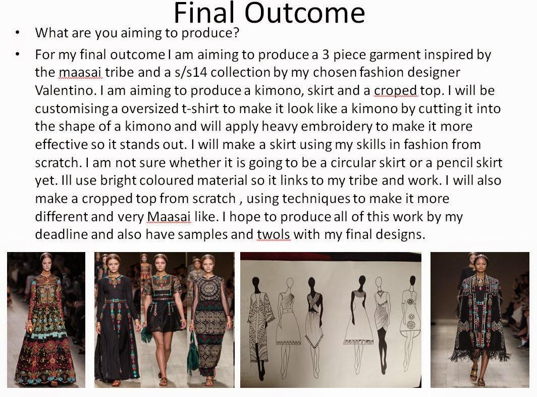 Fashion Oldham College Statement Of Intent Powerpoint
