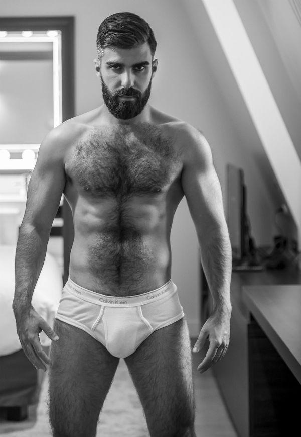 Hairy Armando Santos Shirtless by Riley-McFarlane Photography