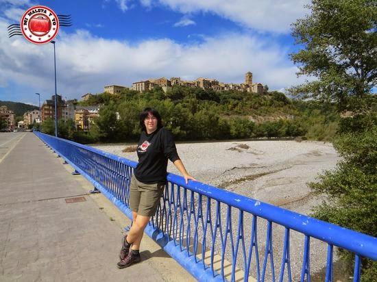 Visitando Aínsa en Huesca