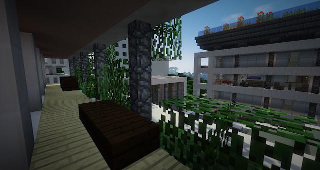 construccion minecraft ciudad
