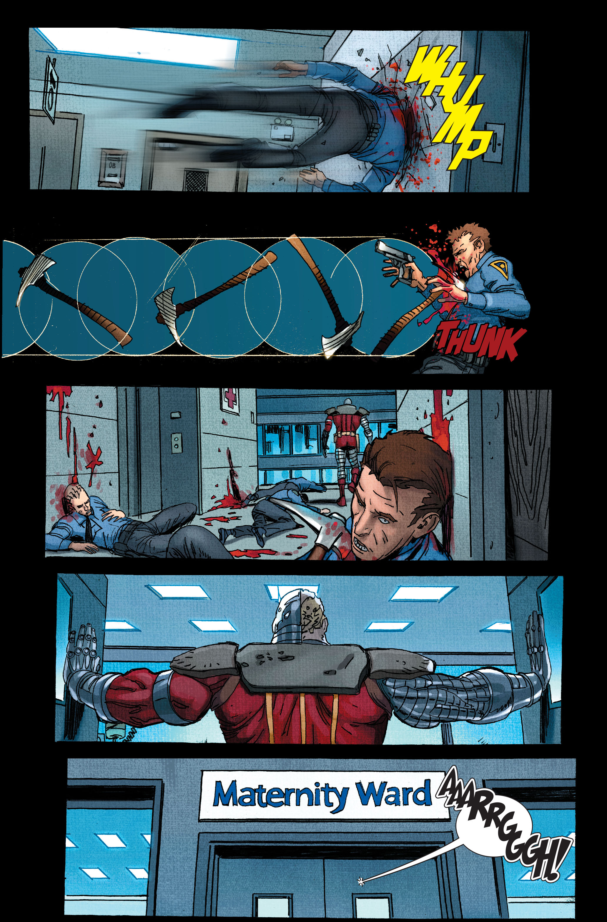 Read online Wolverine: Weapon X comic -  Issue #11 - 20