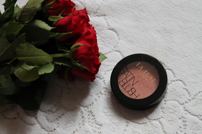 la luxe paris satin blush
