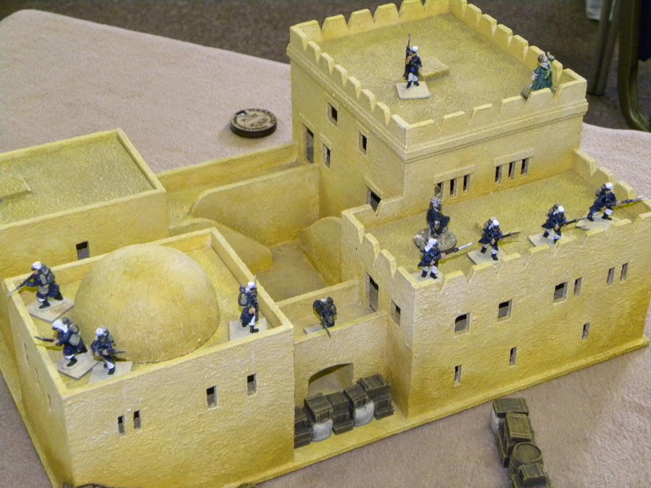 Devon Wargames Group: Sons of the Desert in 28mm
