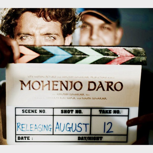 Hrithik Roshan from the movir Mohenjo Daro.