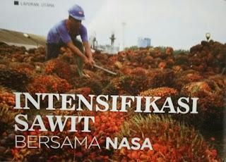 intensifikasi sawit dengan pupuk nasa