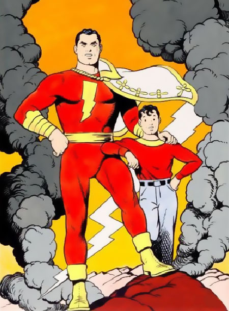 Capitán Marvel y Billy Batson