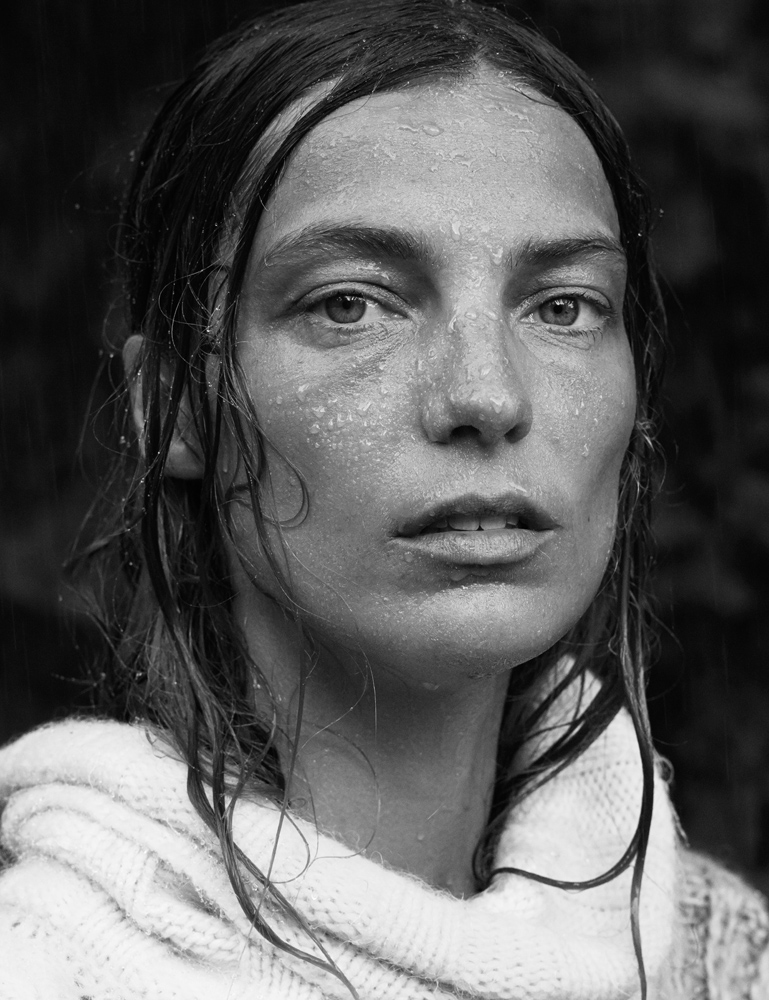 Daria Werbowy Shines On Fashion Canada S October 2013: Daria Werbowy By Mikael Jansson For Interview September