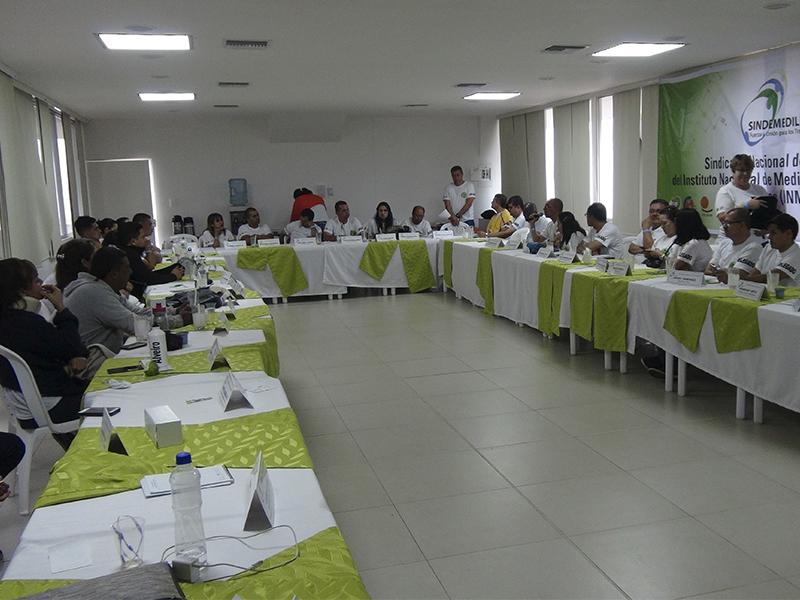 Tras XIII Asamblea Nacional de Delegados, Sindemedilegal se fortalece y mira hacia el futuro