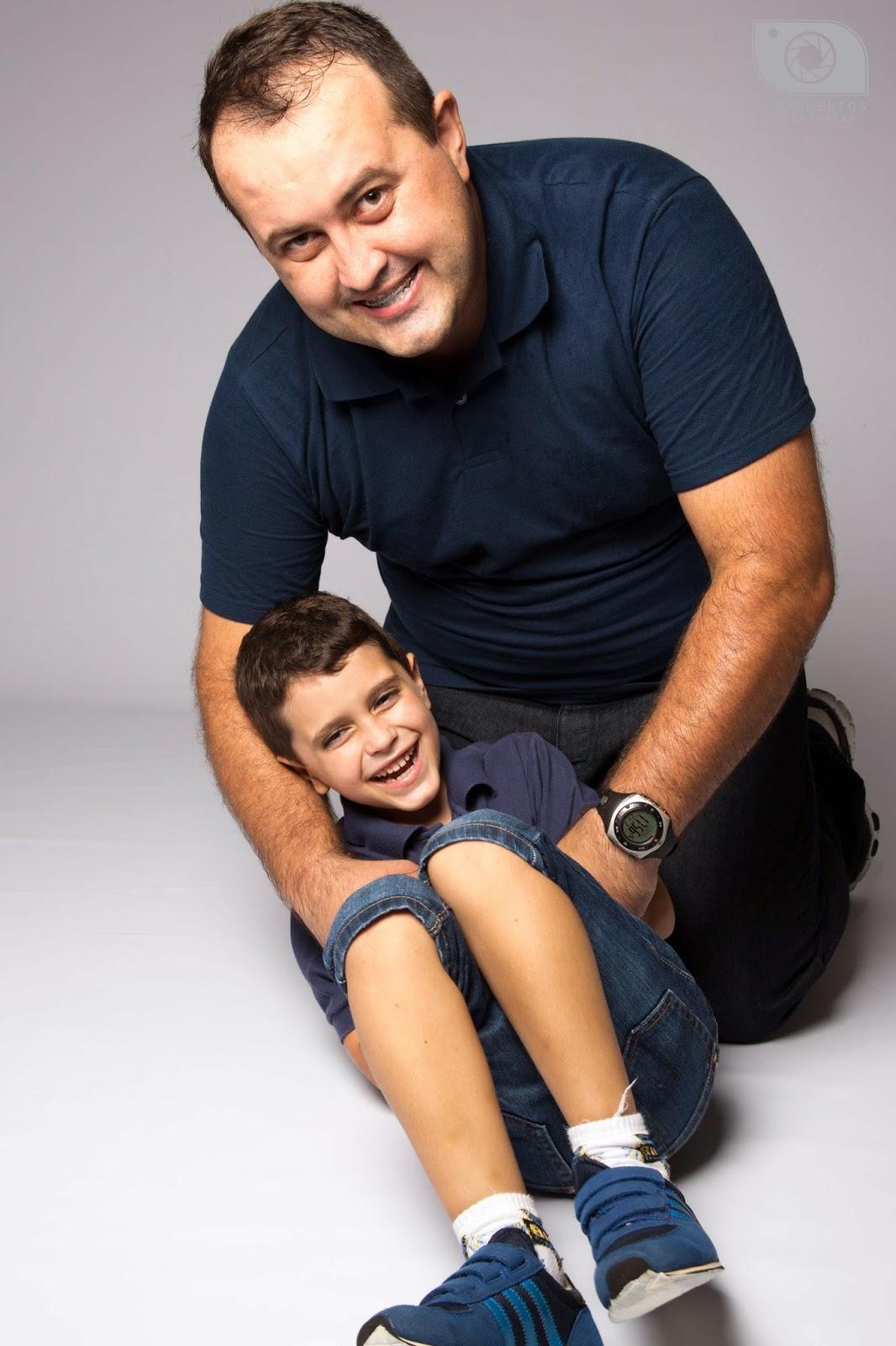 retratos de família em estúdio fotográfico