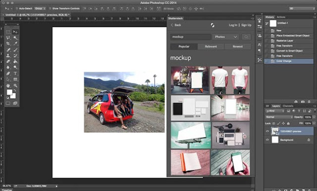kecepatan merupakan salah satu kunci kualitas seseorang Maksimalkan Photoshop Dengan Plugin Shutterstock Photoshop