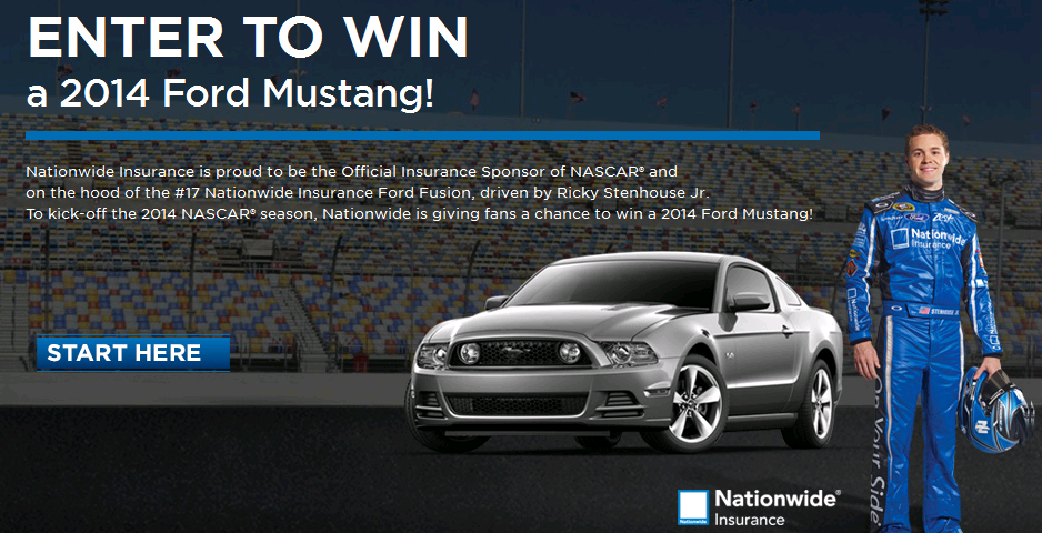 Nascar Mustang Gt Giveaway