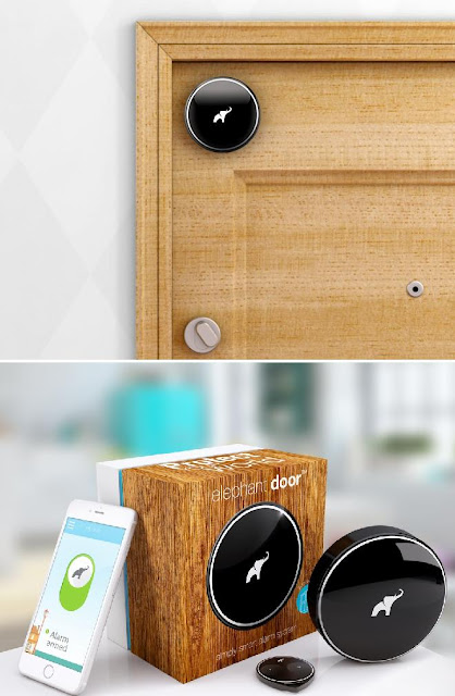 Elephant Door smart home security device