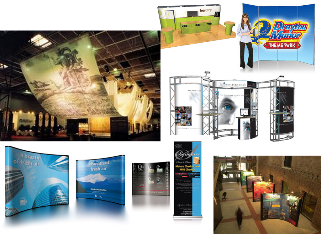 Exhibition Stall Fabricators In London : Exhibition stall fabrication design panel printing london