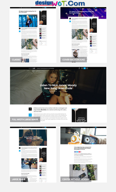 GoodLife - Responsive Magazine Theme