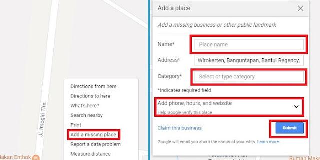 Cara Menambahkan Lokasi Bisnismu di Google Maps