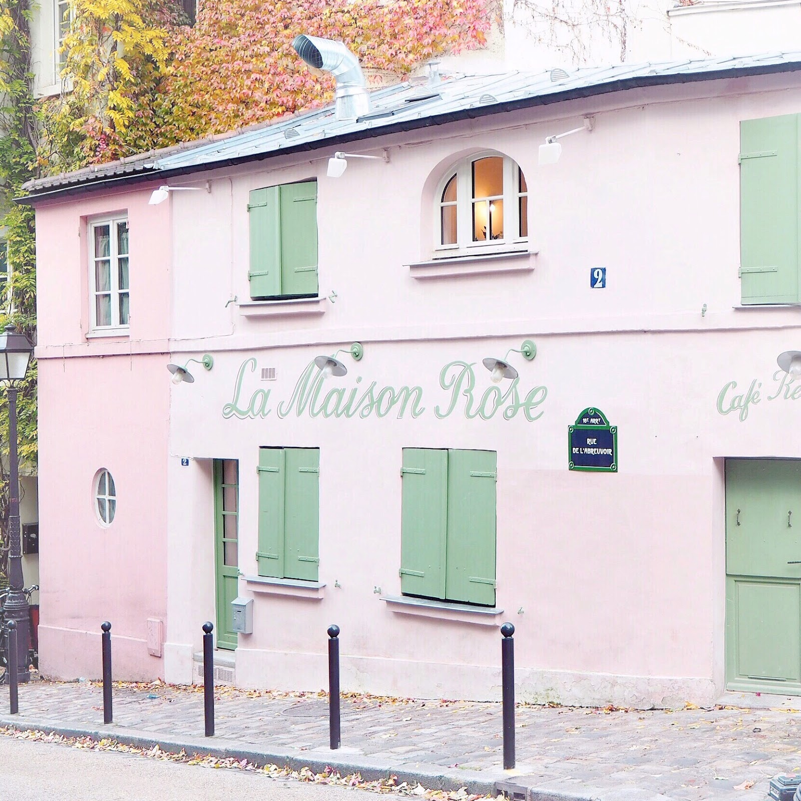 La Maison Rose, Paris | Love, Catherine