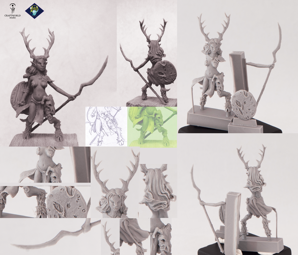 Two new projects for Aradia miniatures | Craftworld Studio