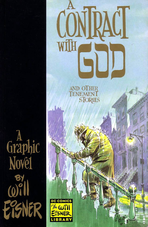 Read A Contract with God graphic novel cover