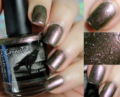 CrowsToes Nail Color Death Warmed Over | Winter 2016