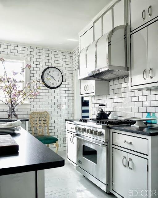 """Subway Tiles In Kitchen: La Petite Anne: Kachličky Z """"metra"""" Na Dvacet Způsobů"""