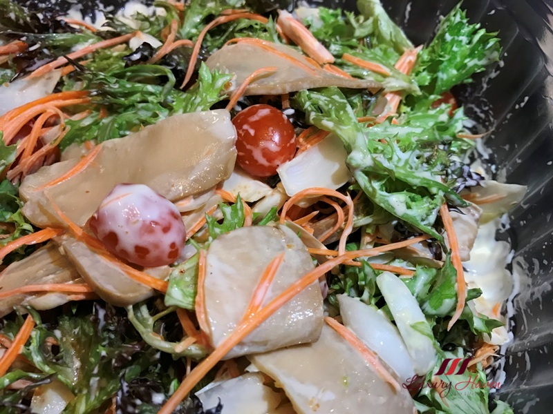 wasabi mayo abalone salad recipe fresh lily bulbs