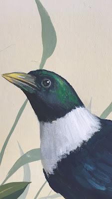 Handgeschilderd behang van Snijder & CO
