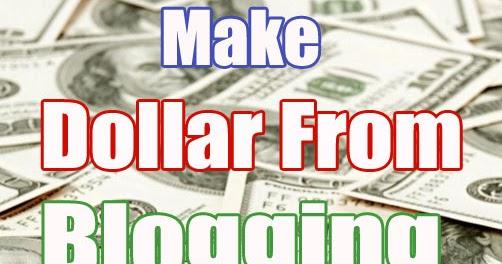 7 Cara Mudah Menghasilkan Dollar Dari Blog - Gratisiana.Net