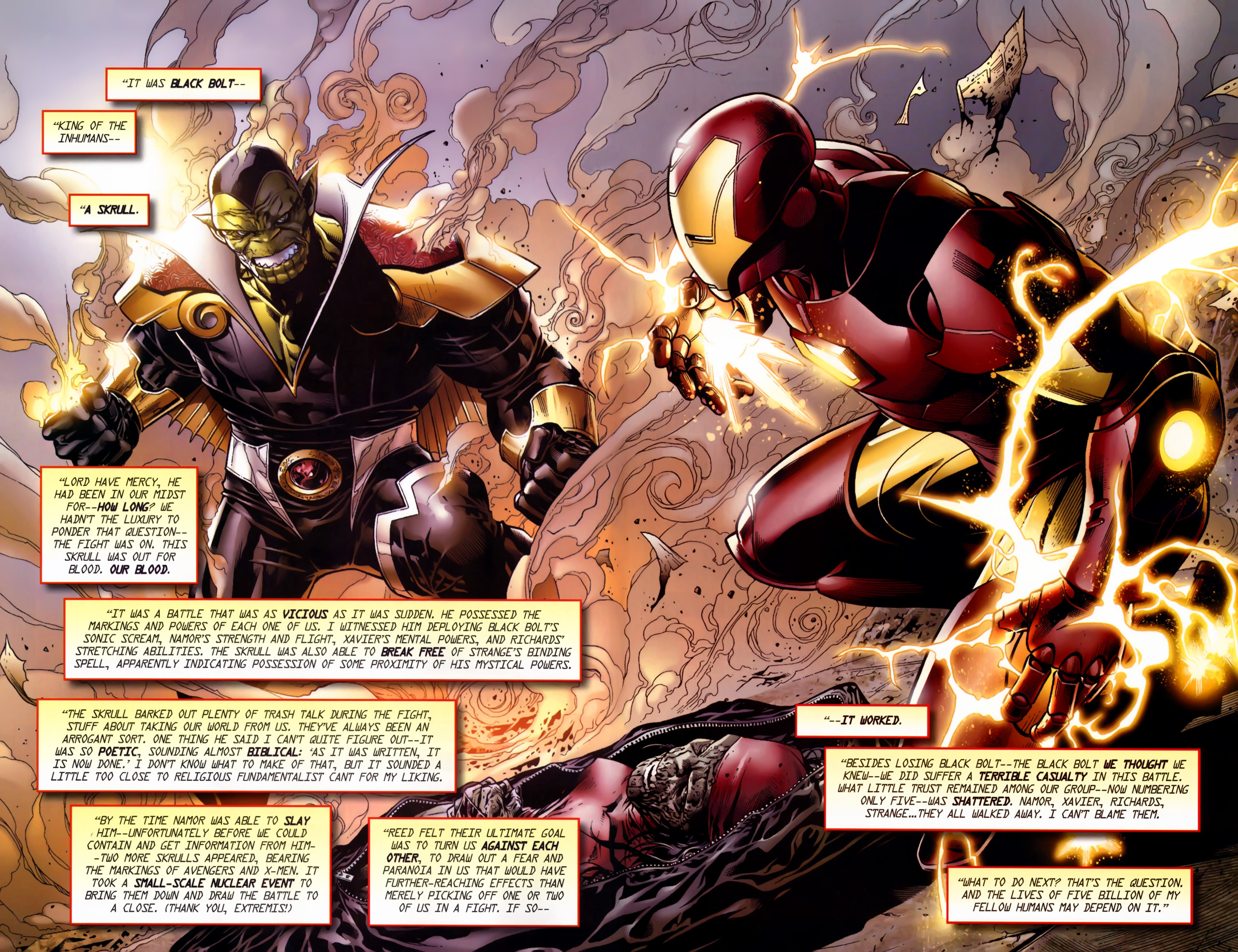 Read online Secret Invasion: The Infiltration comic -  Issue #11 - 7