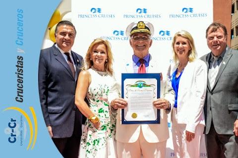 Princess Cruises homenajea al Capitán de ''Vacaciones en el Mar''