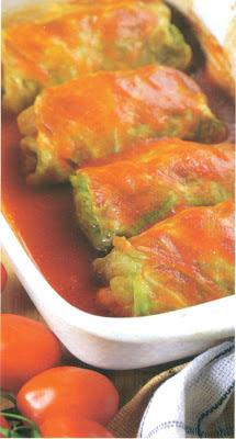 Reţetă culinară: sarmale în varză dulce