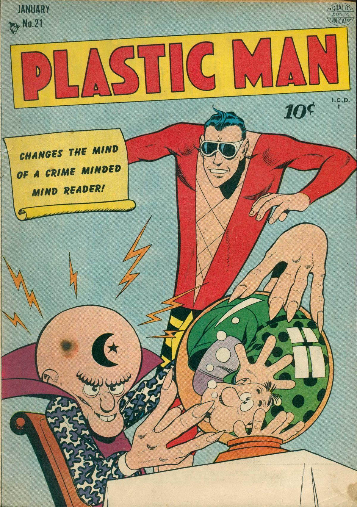 Plastic Man (1943) 21 Page 1