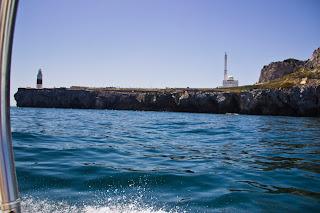 Punta de Europa y Mezquita en Gibraltar