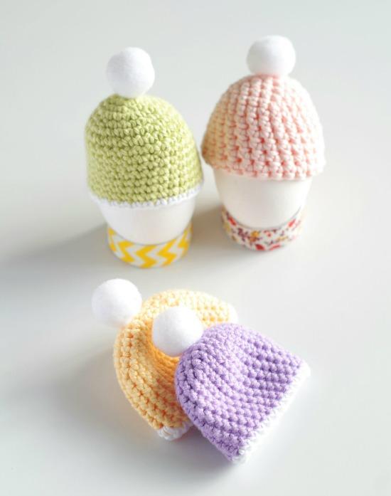 Czapeczki na jajka