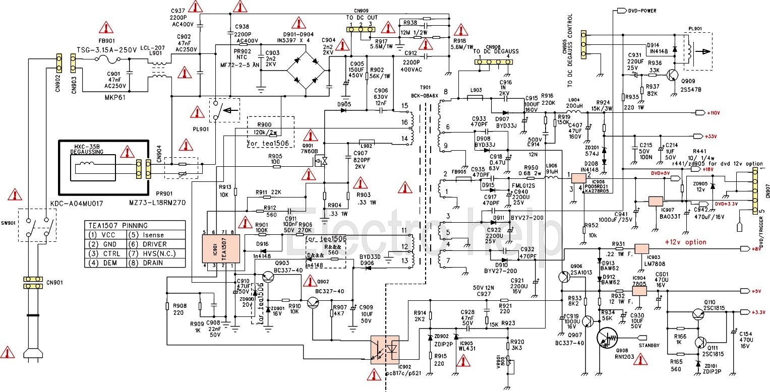 Snap Awesome Smps Schematic Contemporary Wiring Diagram Ideas ...