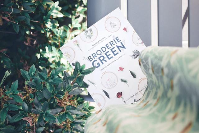 livre Broderie green
