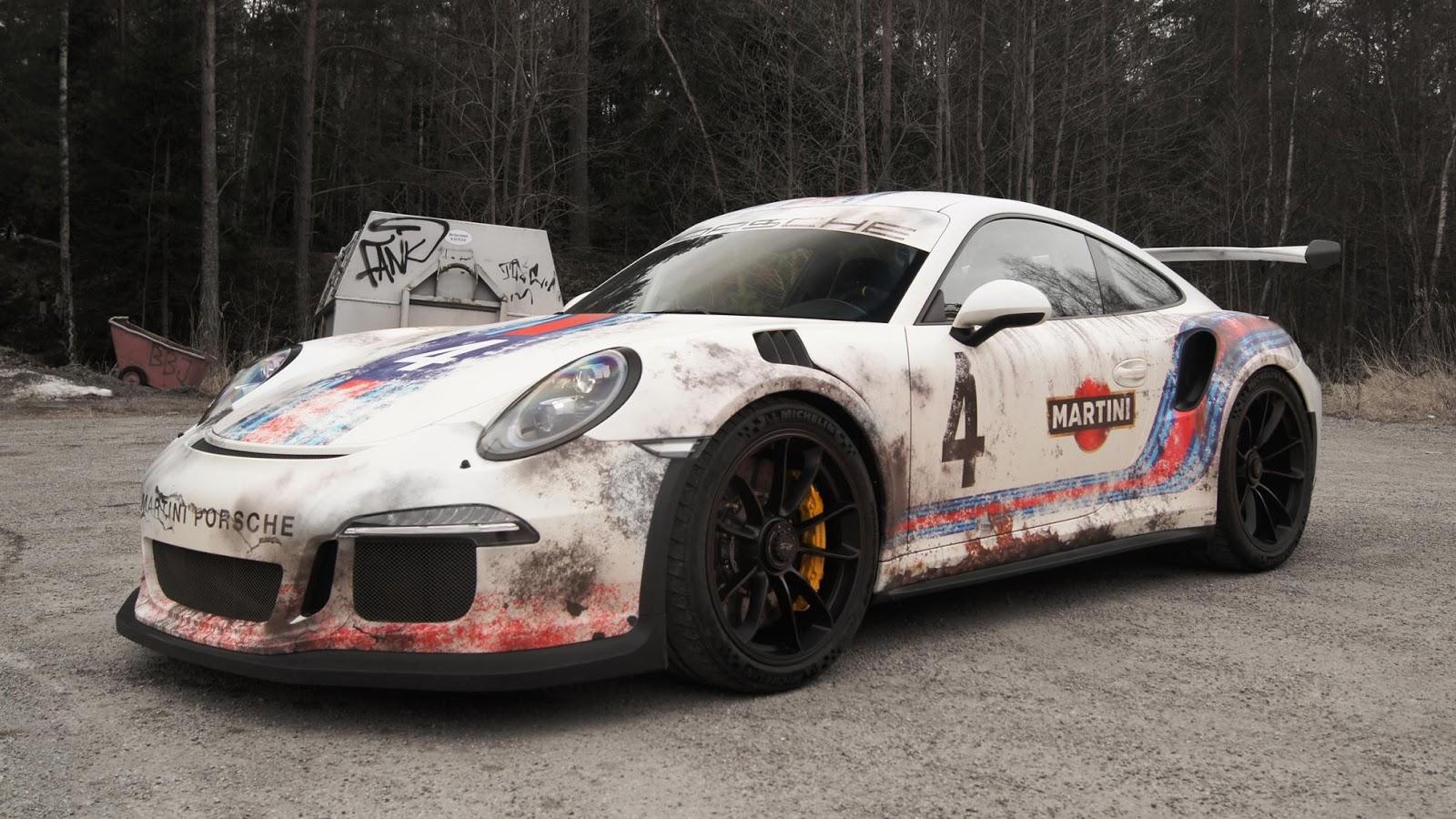 Biến Porsche 911 GT3 RS thành đồ cổ 30 năm