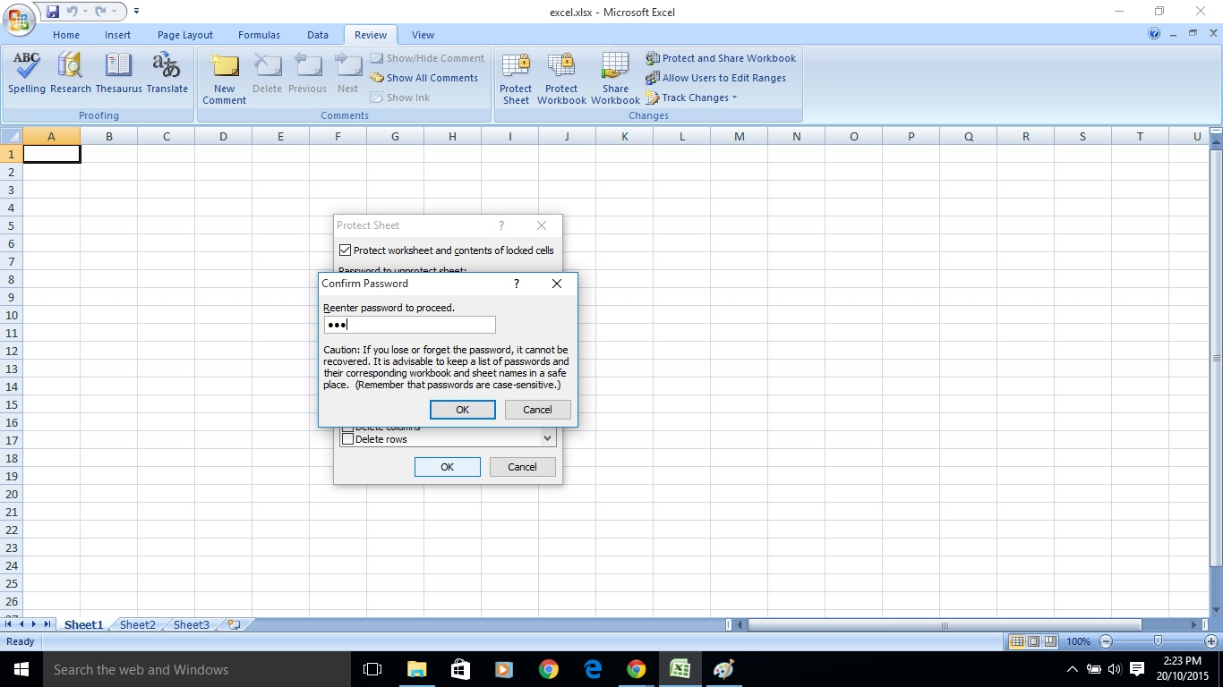 My Blog Remove Excel Worksheet Password
