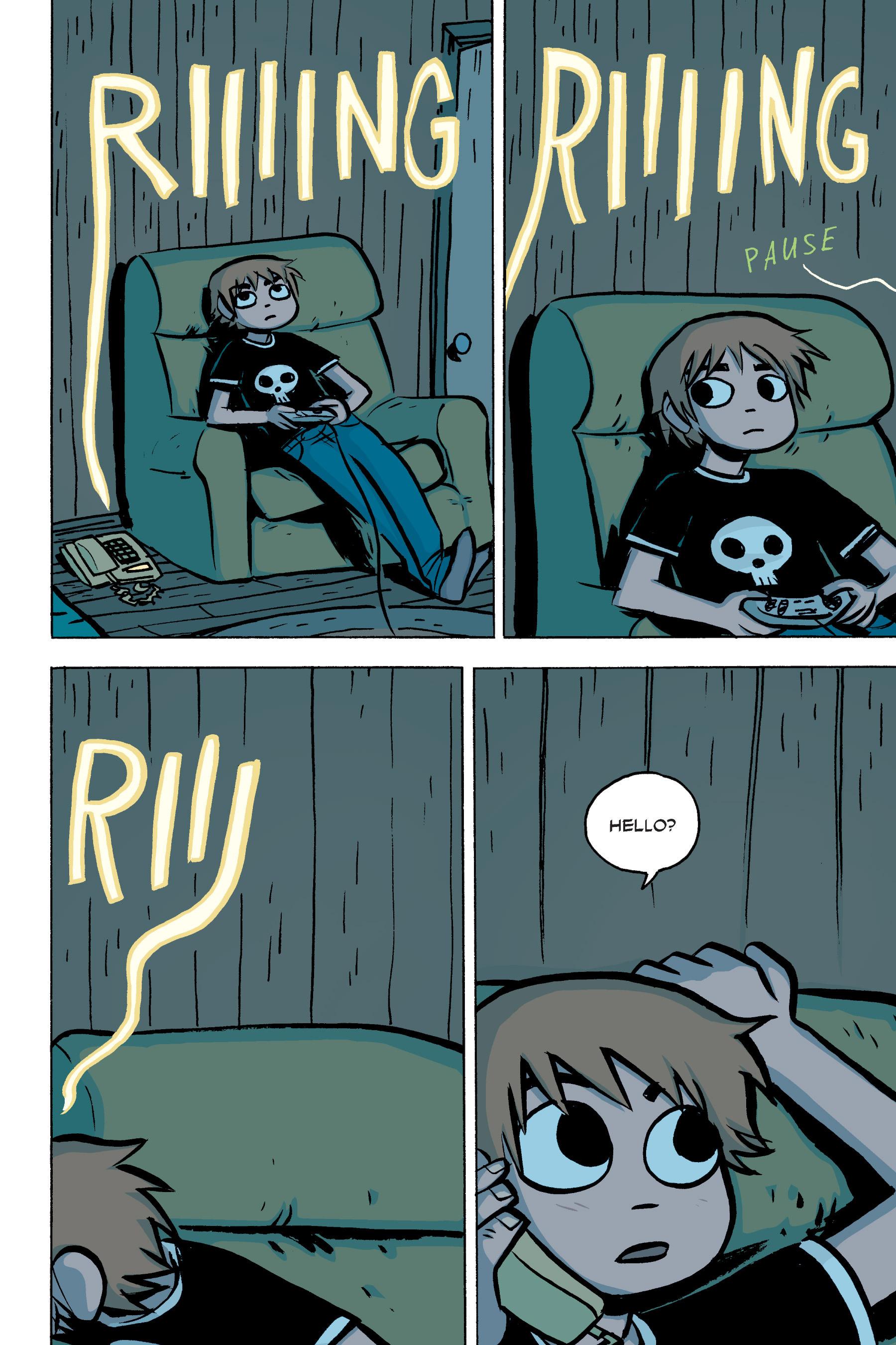 Read online Scott Pilgrim comic -  Issue #2 - 148
