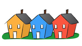 houses-row-illustration-three-colorful-39581564 Gestionale alberghiero multistruttura