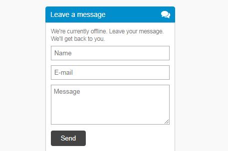 Tạo hộp liên hệ (Contact Form) ẩn hiện dưới chân trang cho Blogspot