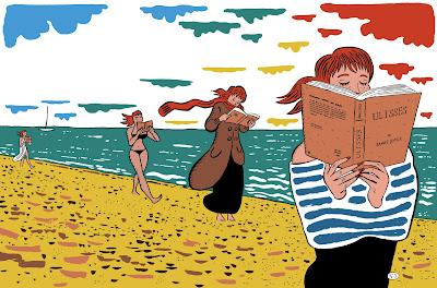Resultado de imagem para leitura nas ferias ilustração
