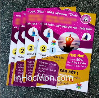 in tờ gấp, tờ bướm, flyer, leaflet, brochure Hóc Môn