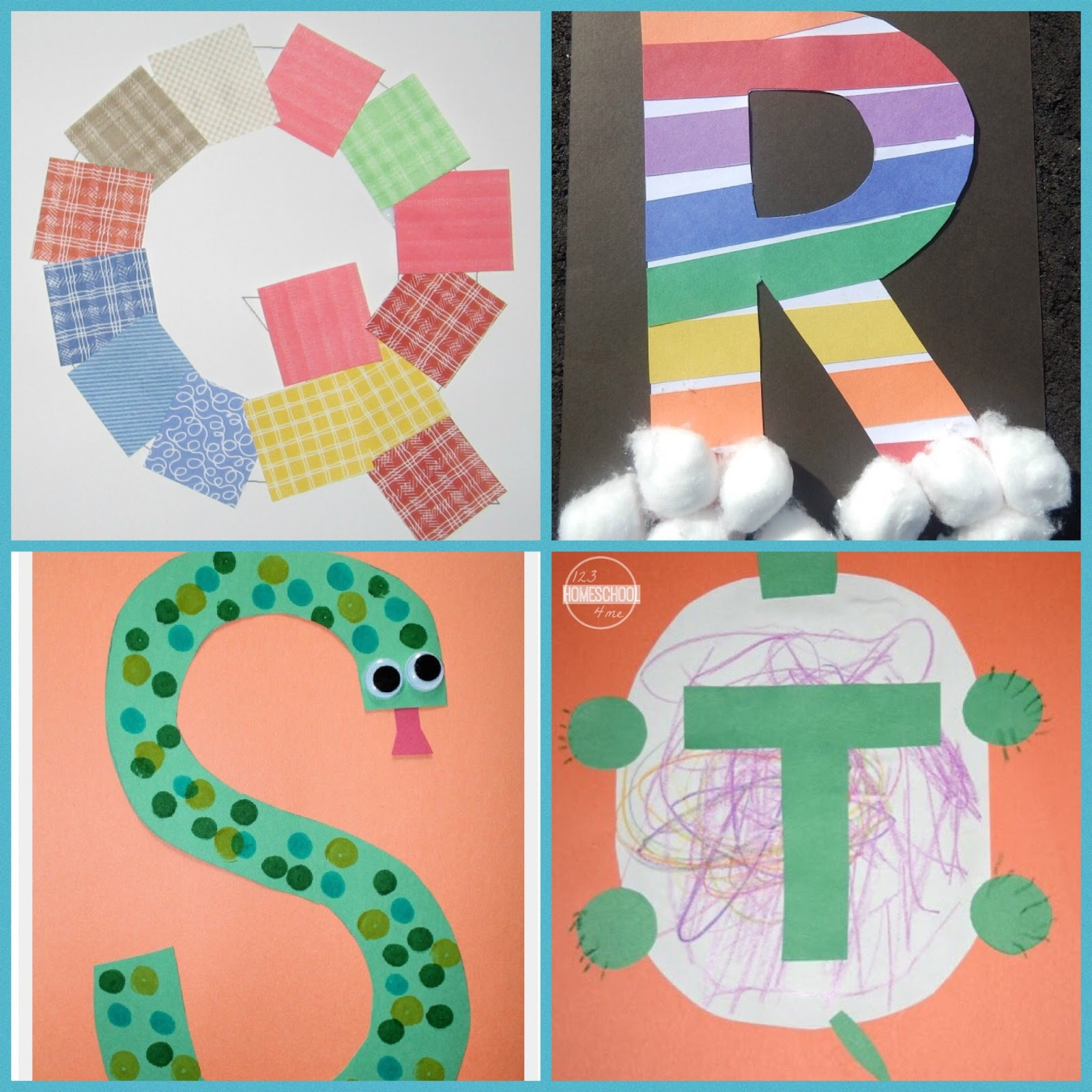 26 Alphabet Crafts
