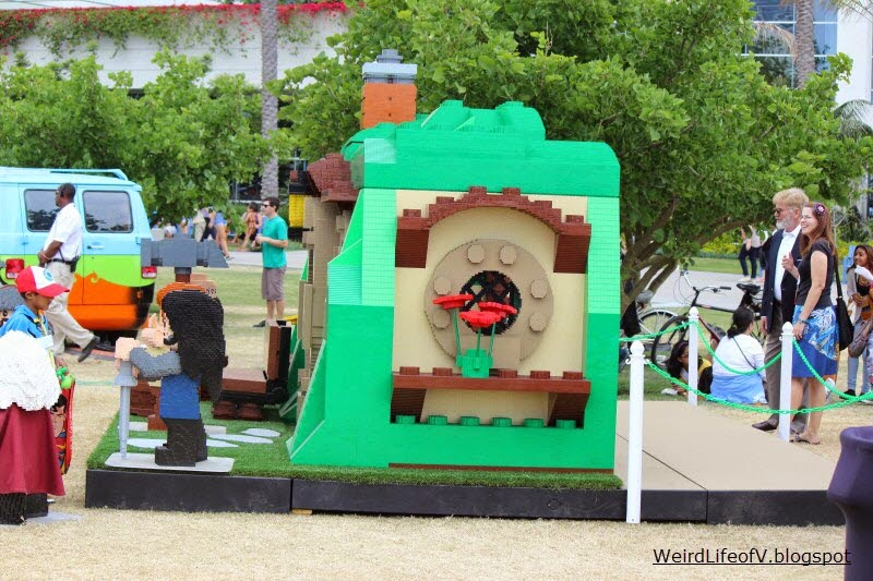 Bilbo's house made of Legos