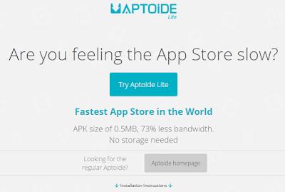 Aptoide Lite Installer
