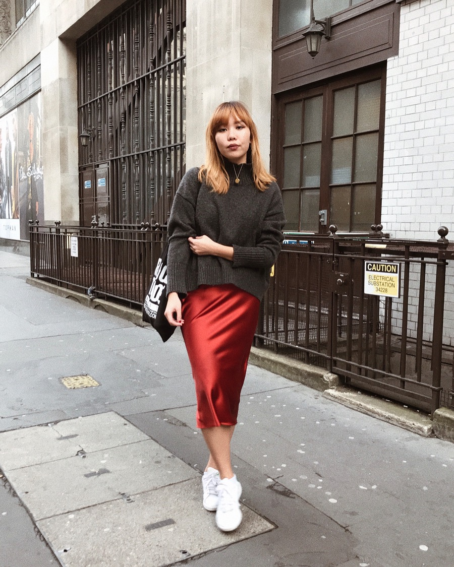top-rated newest official supplier pretty and colorful THE MOST COVETED TOPSHOP SATIN SKIRT AND HOW TO WEAR IT ...