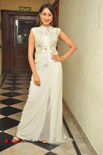 Actress Pragya Jaiswal Stills in Beautiful White Dress at turodu Audio Launch  0065.JPG